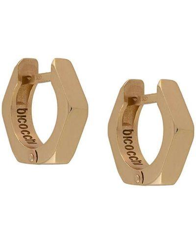Золотистое кольцо золотое Emanuele Bicocchi