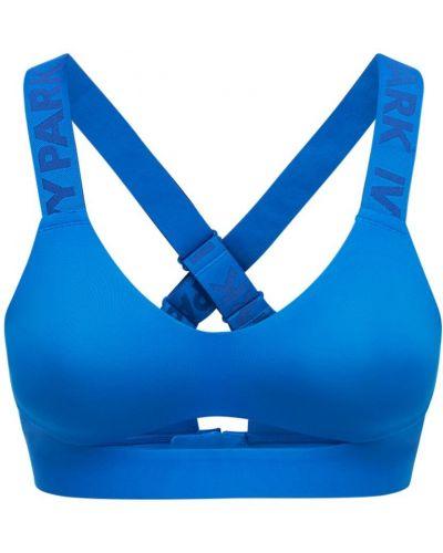 Синий бюстгальтер с вырезом Adidas X Ivy Park