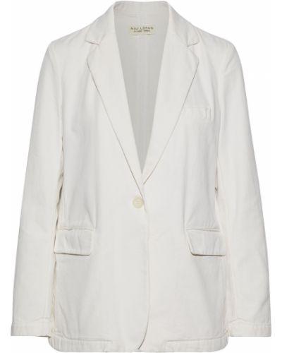 Бежевый пиджак с карманами на пуговицах Nili Lotan