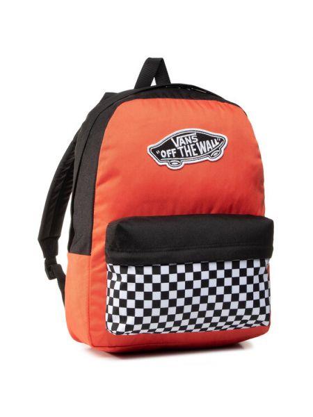 Plecak - pomarańczowy Vans