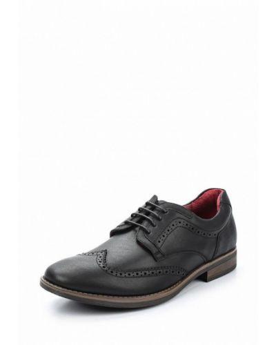 Черные туфли из искусственной кожи Tesoro