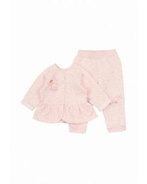 Розовый костюмный пиджак ля-ля