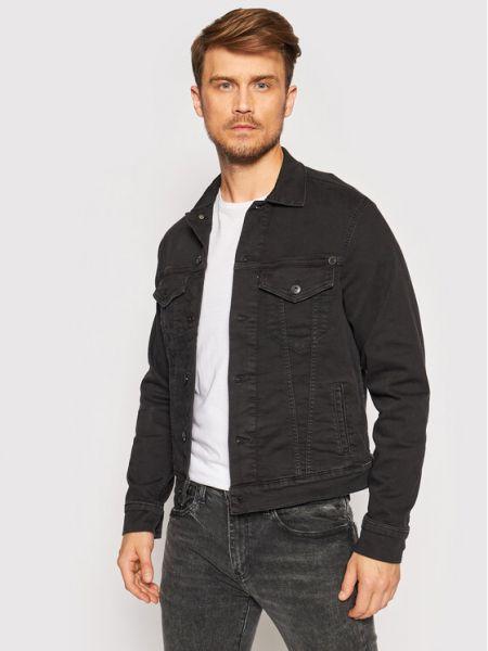 Kurtka jeansowa - czarna Pepe Jeans