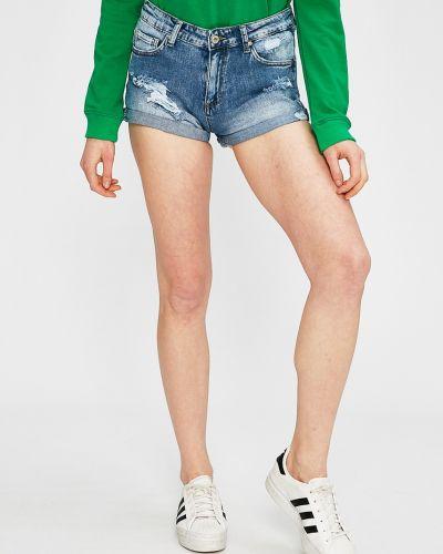 Синие джинсовые шорты Answear