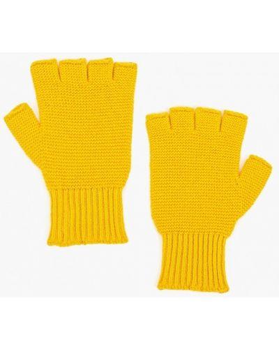 Перчатки желтый United Colors Of Benetton