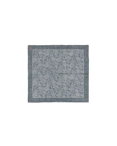 Платок с карманами серый Isaia
