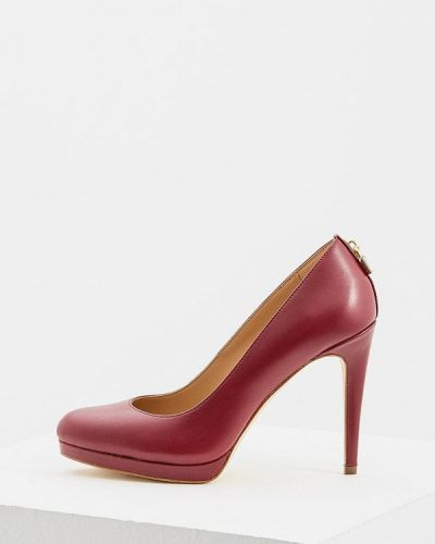 Кожаные туфли осенние на каблуке Michael Michael Kors