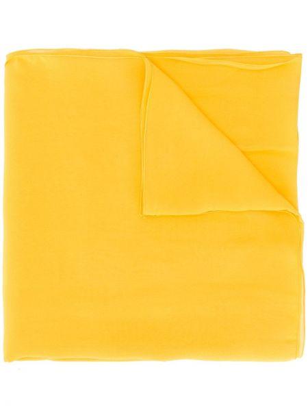 Шарф желтый Blumarine