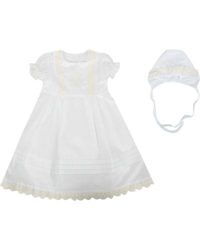Рубашка с вышивкой белый Lucky Child