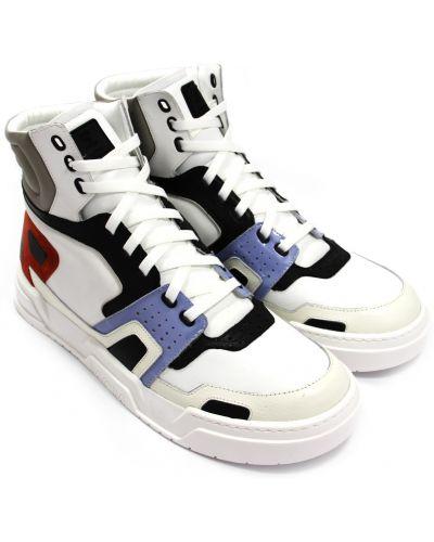 Кожаные кроссовки Mcm