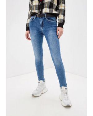Зауженные джинсы - голубые One Teaspoon