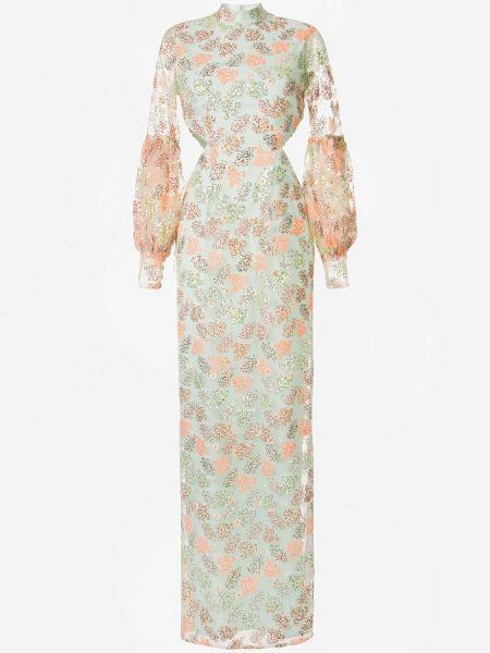 Платье с прозрачными рукавами на молнии Alice Mccall