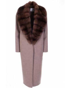 Пальто классическое шерстяное с воротником Manzoni 24