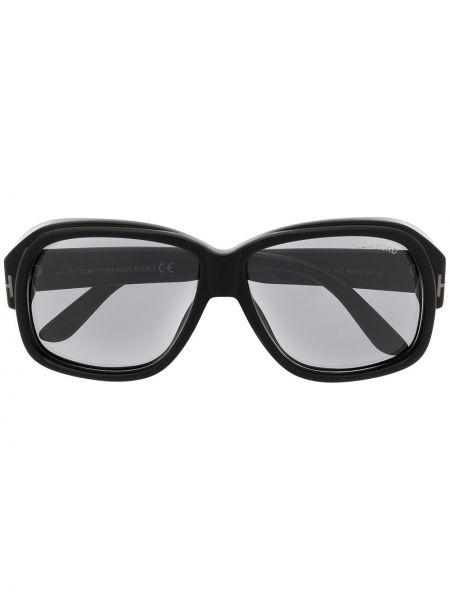 Черные солнцезащитные очки оверсайз Tom Ford Eyewear