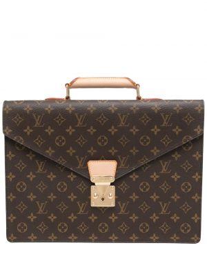 Teczka skórzana - brązowa Louis Vuitton