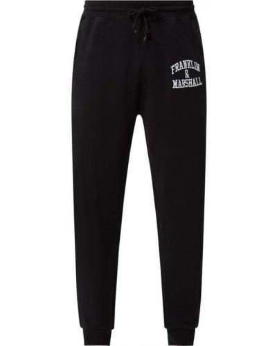 Spodnie dresowe bawełniane - czarne Franklin & Marshall