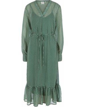 Платье миди с рукавами с длинными рукавами Ichi