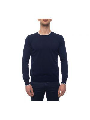 Biały pulower bawełniany Fay