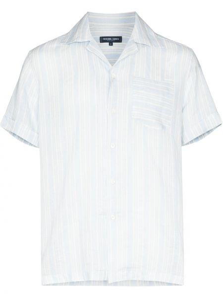 Biała koszula krótki rękaw Frescobol Carioca