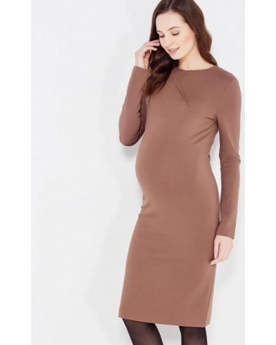 Платье осеннее прямое Mammysize