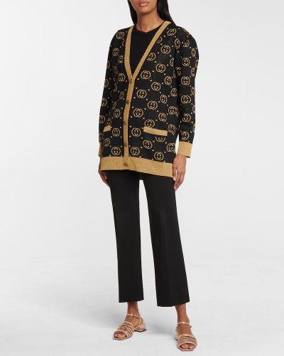 Złote sandały vintage Gucci