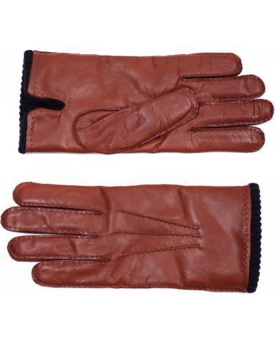 Коричневые кожаные перчатки Merola Gloves