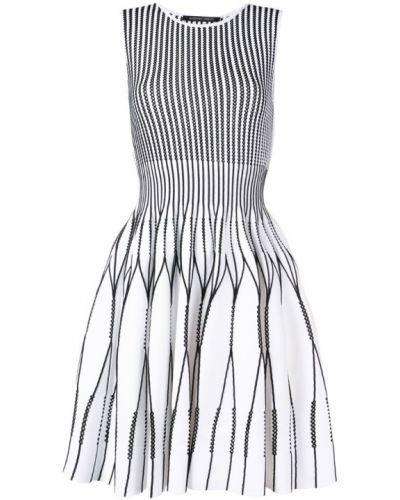 Платье миди с вырезом с перфорацией Antonino Valenti
