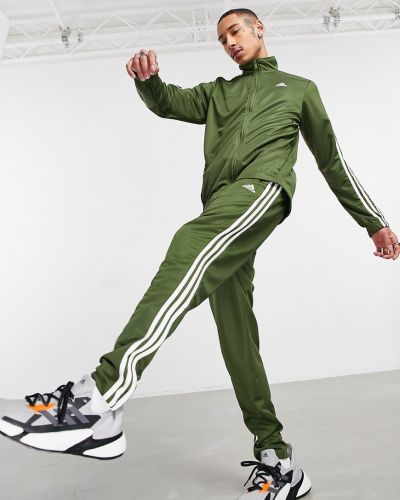 Zielony dres Adidas Performance