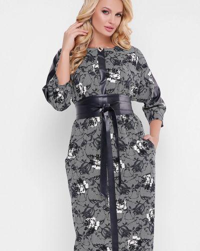 Вечернее платье - серое Vlavi