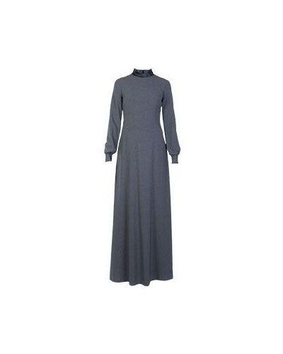 Вечернее платье серое винтажная Via Torriani 88