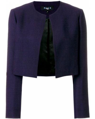 Синяя короткая куртка Paule Ka