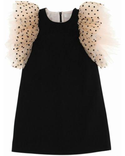 Czarna sukienka Monnalisa