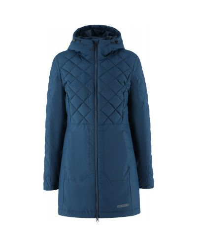 Утепленная синяя куртка на молнии Outventure