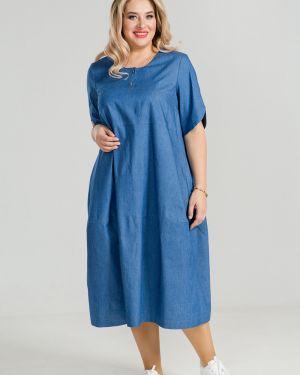 Летнее платье мини джинсовое Luxury