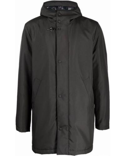 Płaszcz przeciwdeszczowy - czarny Fay