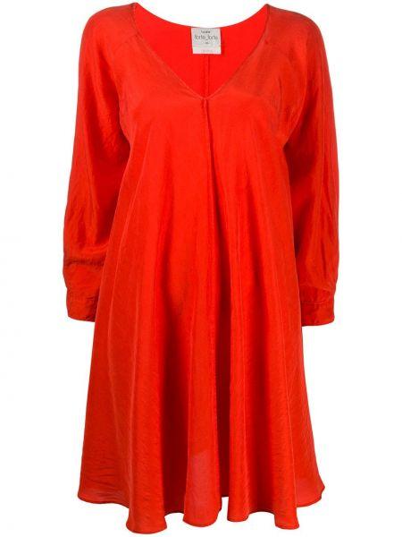 Платье оверсайз с V-образным вырезом Forte Forte