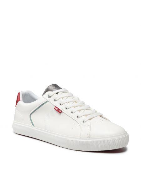 Sneakersy - białe Levi's