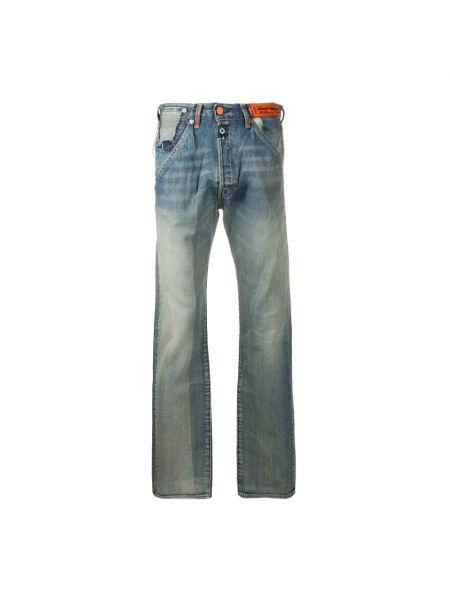 Mom jeans - niebieskie Heron Preston