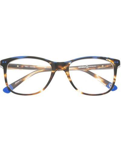 Коричневые очки прозрачные Etnia Barcelona