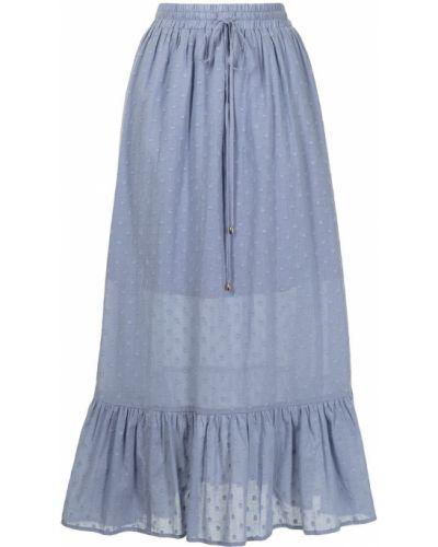 Синяя юбка с завышенной талией We Are Kindred