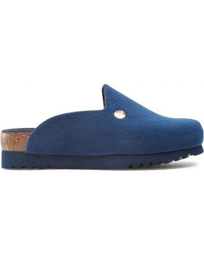 Тапочки - синие Scholl