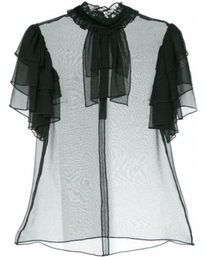 Блузка с рюшами прозрачная Macgraw
