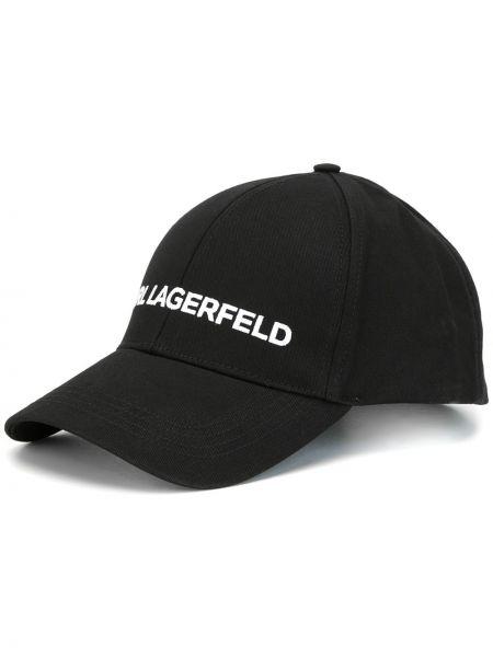 Бейсбольная кепка - черная Karl Lagerfeld
