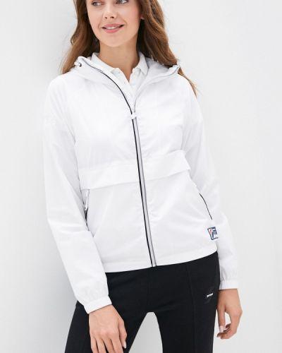 Белая легкая куртка Superdry