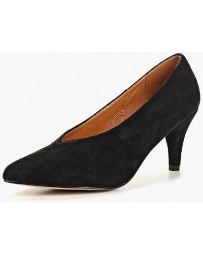 Туфли на каблуке осенние замшевые Vera Blum
