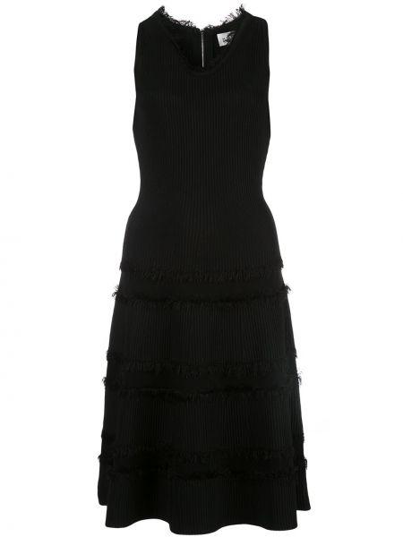 Платье миди с бахромой платье-солнце Milly