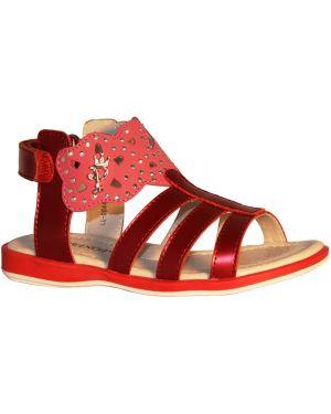 Красные туфли на каблуке Bondibon