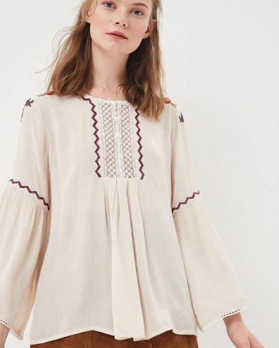 Бежевая блузка Sweewe