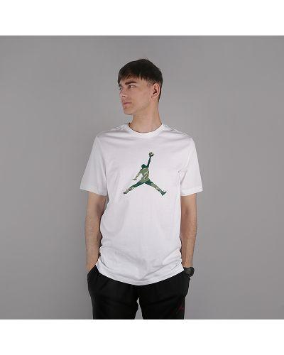 Белая футболка хлопковая Jordan