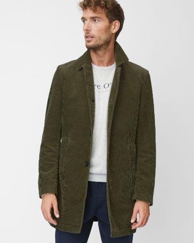 Пальто вельветовое однобортное Marc O' Polo